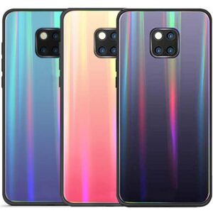 قاب لیزری هفت رنگ هواوی Baseus Glass Laser Flame Color Case | Mate 20 Pro