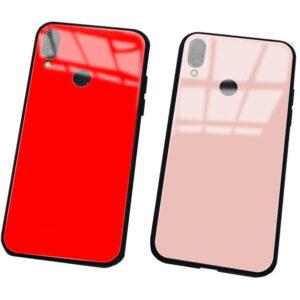 قاب پشت گلس هواوی TPU Frame + Glass Case Huawei Y6 2019 | Y6 Prime 2019