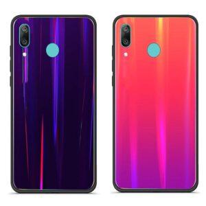 قاب لیزری هواوی Baseus Glossy Laser Aurora Case Huawei Y7 2019 | Y7 Prime 2019