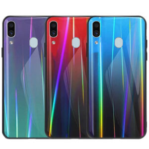 قاب لیزری رنگین کمانی سامسونگ Baseus Laser Aurora Case | Galaxy A40