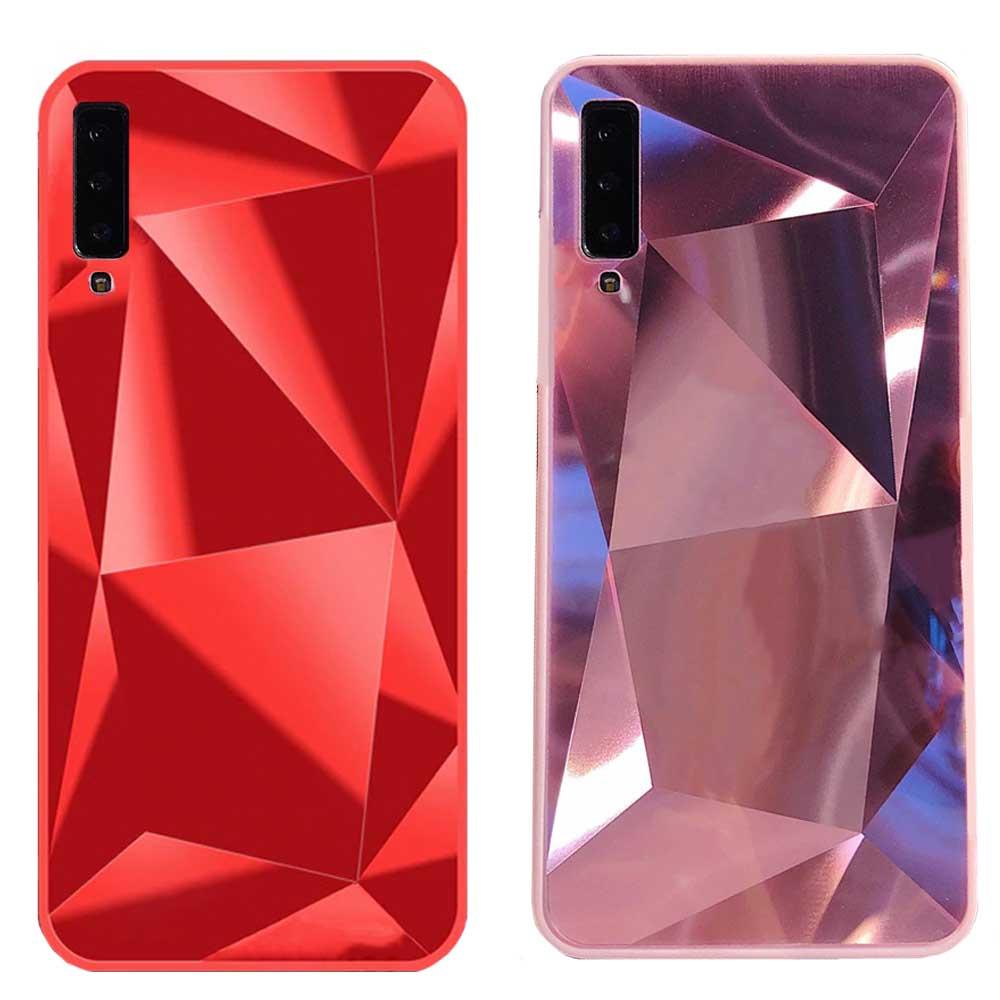 قاب الماسی سامسونگ Luxury Diamond Mirror Case galaxy A7 2018 | A750