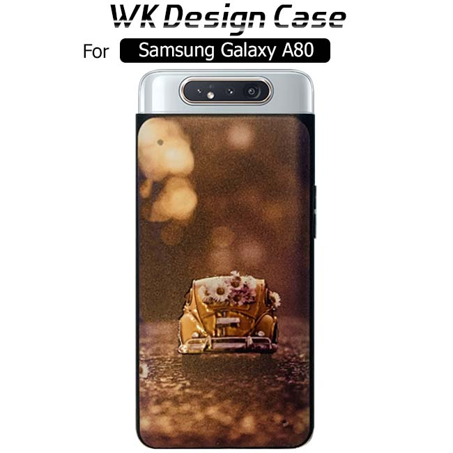 قاب محافظ سامسونگ WK Design Printed Case | Galaxy A80