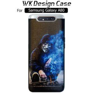 قاب طرح دار سامسونگ WK Dark Designed Cover | Galaxy A80