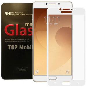 محافظ پوشش کامل سامسونگ Magic Full Cover Tempered Glass | Galaxy C9