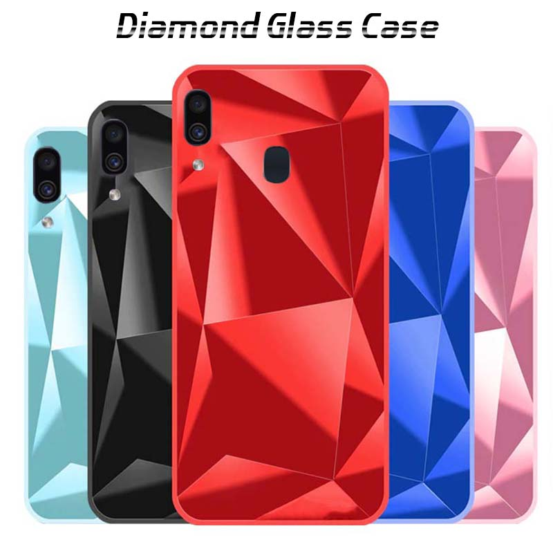 قاب الماسی براق سامسونگ Luxury Mirror Diamond Glitter Case | Galaxy M20