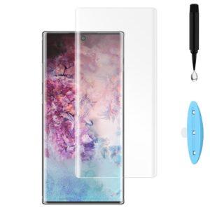 محافظ صفحه تمام منحنی سامسونگ UV Liquid Glue Glass | Galaxy Note 10