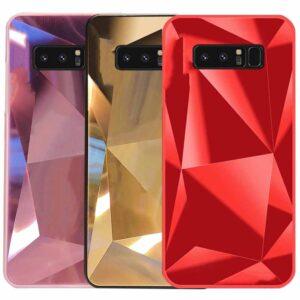 قاب محافظ الماسی سامسونگ Luxury Diamond Glass Case | Galaxy Note 8