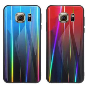 قاب لیزری براق سامسونگ Baseus Luxury Laser Aurora Case | Galaxy S6