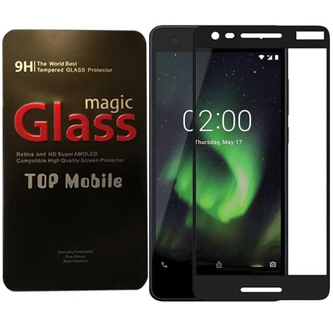 محافظ پوشش کامل نوکیا Magic Clear Edge To Edge Full Glass | Nokia 2.1