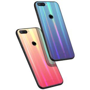 قاب لیزری براق شیائومی Baseus Glossy Laser Aurora Case | Mi 8 Lite