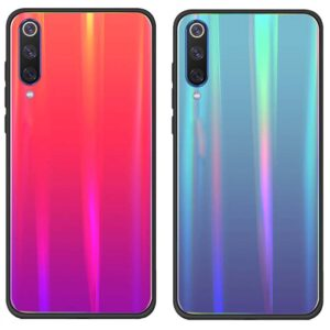 قاب لیزری شیائومی Baseus Tempered Glass Gradient Laser Cover | Xiaomi Mi 9 SE