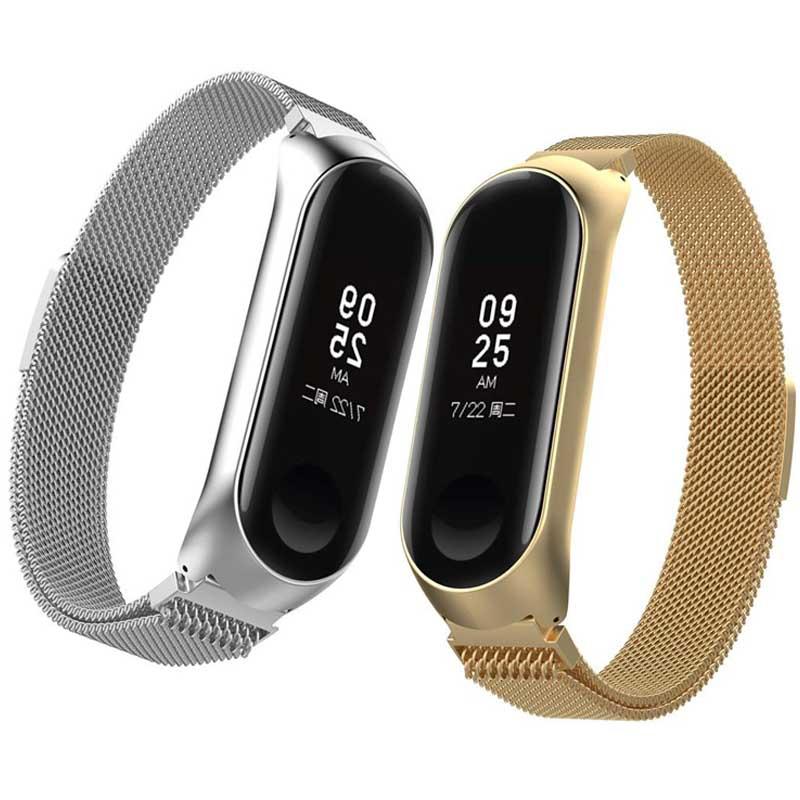 بند استیل حصیری ساعت هوشمند شیائومی Xiaomi Minalese Loop Bracelet   Mi Band 4