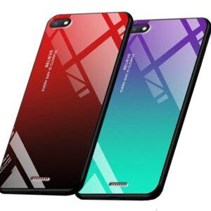 قاب پشت گلس شیائومی Aurora Glass Case | Xiaomi Redmi 6A