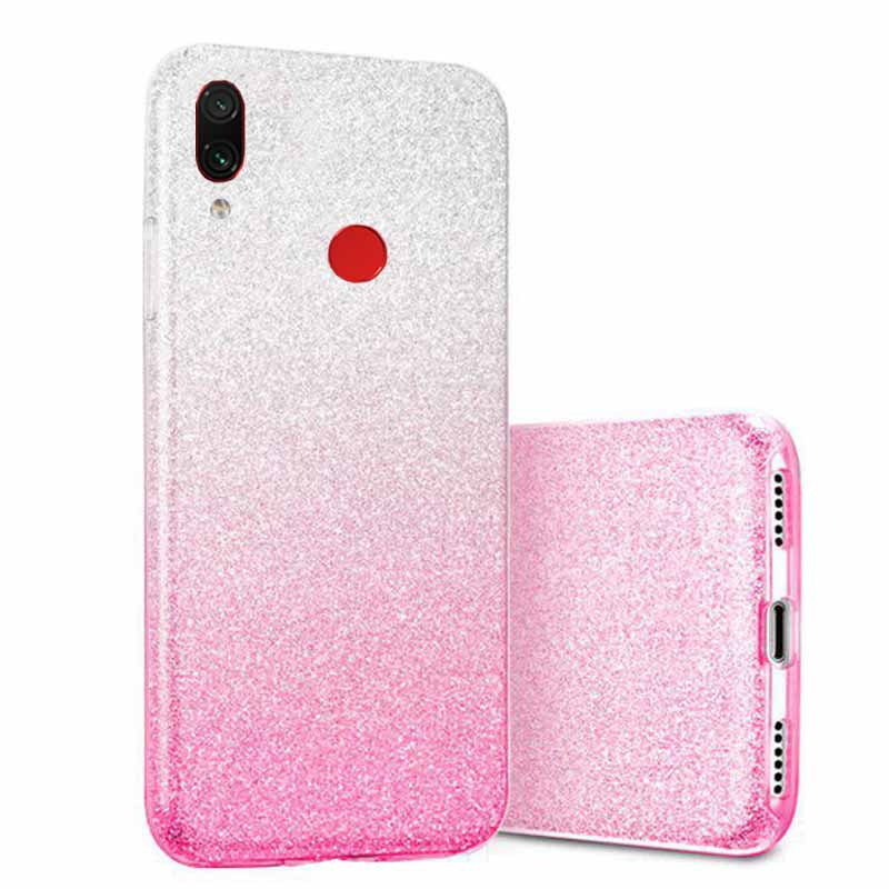 قاب انعطاف پذیر اکلیلی شیائومی Luxury Shiny Alkyd Case   Redmi Note 7