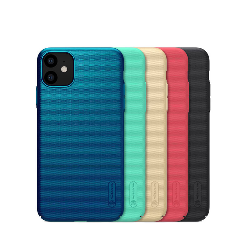 قاب محکم نیلکین آیفون Nillkin Frosted Shield Matte Cover | iPhone 11