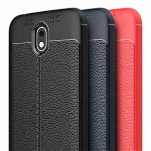 قاب طرح چرم نوکیا Auto Focus Texture Case | Nokia 1 Plus