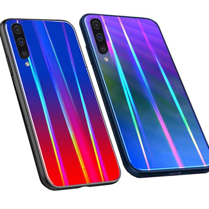 قاب لیزری سامسونگ Baseus Laser Aurora Case Galaxy A9 2018 | A9 Star Pro | A9s
