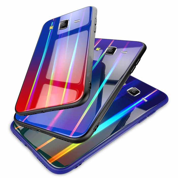 buy price samsung galaxy j5 baseus laser aurora gradient colorful case 1 قاب لیزری گوشی