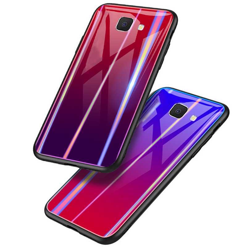 قاب براق لیزری سامسونگ Baseus Laser Colorful Case   Galaxy j5 Prime
