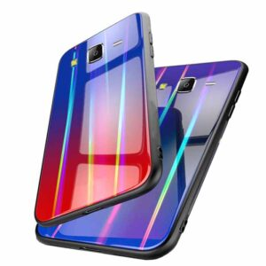 قاب لیزری سامسونگ Baseus Glossy Laser Aurora Cover | Galaxy j7 2015