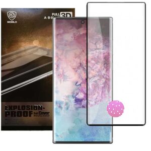محافظ صفحه پوشش منحنی موبیلو MOBILO AB Full Glue Glass | Galaxy Note 10 Plus