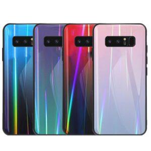 قاب لیزری سامسونگ Baseus Laser Aurora Gradient Colorful Cover | Galaxy Note 8