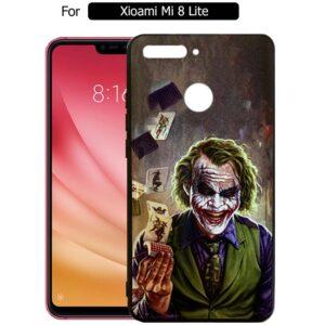 قاب محافظ جوکر شیائومی Designed joker Case | Xiaomi Mi 8 Lite