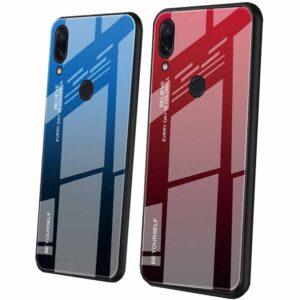 قاب پشت گلس شیائومی Glass Gradient Colorful Case Xiaomi Redmi 7 | Redmi Y3