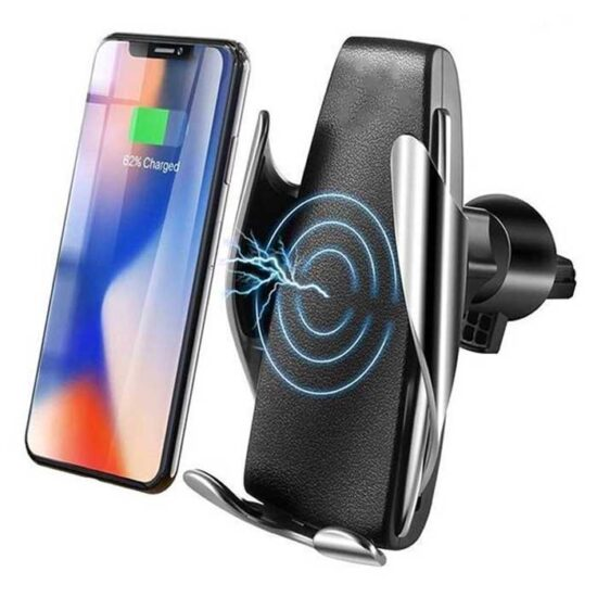 هولدر و شارژر وایرلس هوشمند WUW Smart Sensor car wireless charger holder | W08