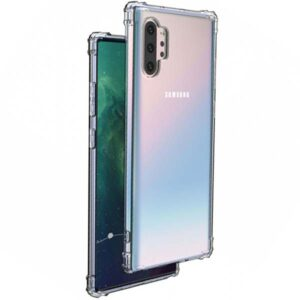 samsung galaxy note 10 plus anti drop transparent crystal clear back cover قاب گوشی