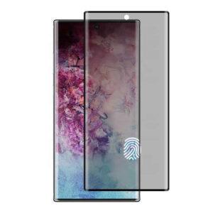 محافظ صفحه حریم خصوصی Full coverage tempered glass privacy | Galaxy Note 10 Plus