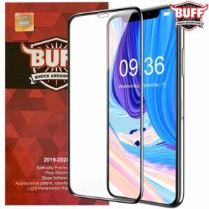 محافظ نمایشگر بوف اپل BUFF Shock Absorption Full Glass   iphone 11 Pro Max
