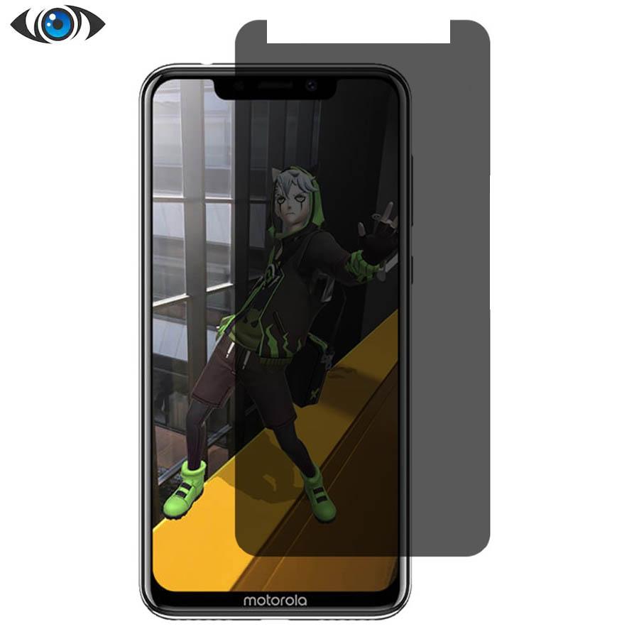 محافظ صفحه ضد جاسوسی موتورولا Temper Film Privacy Glass Motorola One | P30 Play