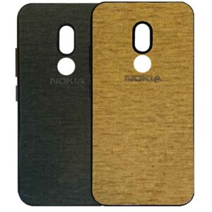 قاب محافظ طرح پارچه نوکیا Slim Siliocone Cloth Pattern Case | Nokia 3.2