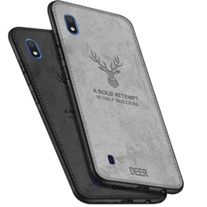buy price samsung galaxy a10 cloth texture silicone tpu deer case 2 قاب گوشی گوزنی