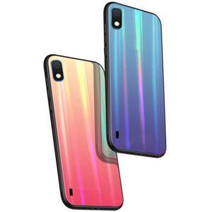 قاب لیزری سامسونگ Baseus Luxury Laser Aurora Case | Galaxy A10