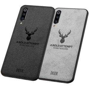 قاب گوزنی طرح پارچه سامسونگ Cloth Texture Deer Cover   Galaxy A50