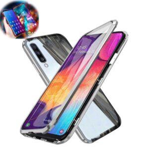 قاب مگنتی + محافظ صفحه سامسونگ Magnetic 360 Case | Galaxy A50