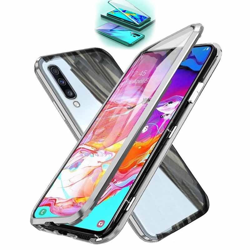 قاب مگنتی + محافظ صفحه سامسونگ Full Body Magnetic Case | Galaxy A70
