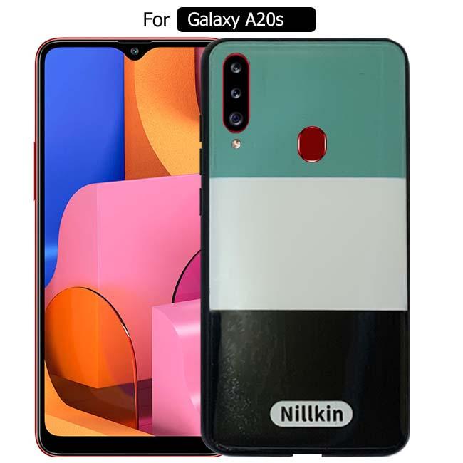 قاب طرحدار سامسونگ Nillkin 3 Color Design Case | Galaxy A20s