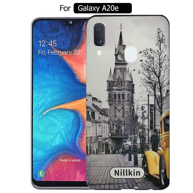 قاب براق سامسونگ Nillkin Street Design Cover | Galaxy A20e