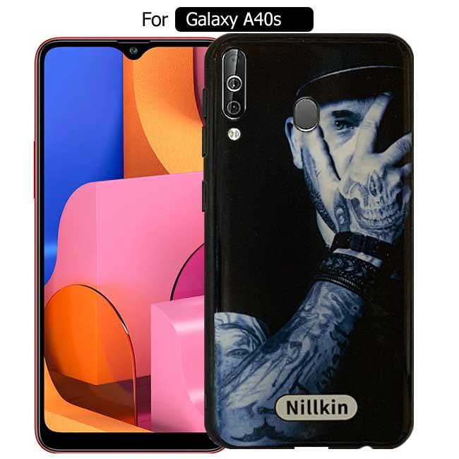 قاب براق سامسونگ Nillkin Dark Design Cover | Galaxy A40s