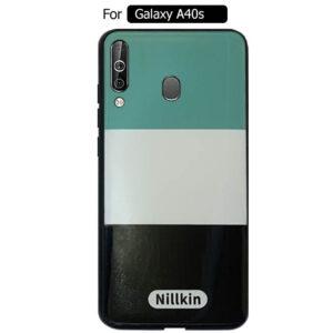 قاب طرحدار سامسونگ Nillkin Colorful Case | Galaxy A40s