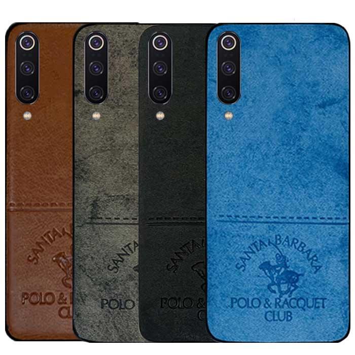 قاب طرح پارچه شیائومی POLO Cloth Pattern Case | Mi 9
