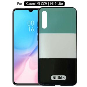 قاب طرحدار شیائومی Nillkin Colorful Case Mi CC9 | Mi 9 Lite