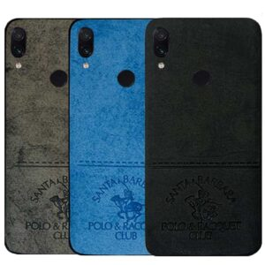 قاب محافظ شیائومی Polo & Club Cloth Pattern Case Redmi Note 7 | Note 7 Pro