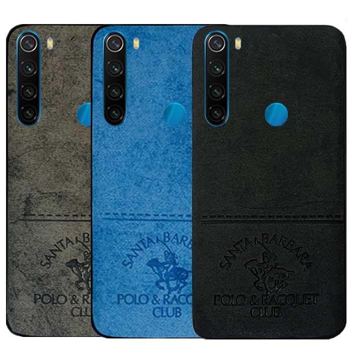 قاب طرح پارچه شیائومی Polo & Club Cloth Pattern Case | Redmi Note 8