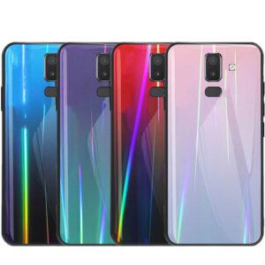قاب لیزری براق سامسونگ Baseus Glass Laser Case | Galaxy j8