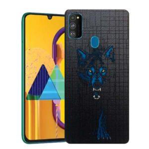 قاب طرحدار سامسونگ Painted Wolf Case | Galaxy M30s