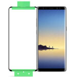 buy price samsung galaxy note 8 edge curved screen film گلس سرامیکی خمیده